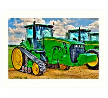 Big Boys Toys-2 Art Print