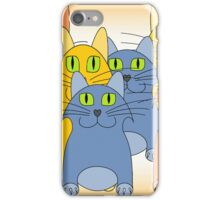 Nine Lives Plus One iPhone Case/Skin