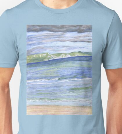 Weymouth Beach- Pencil Unisex T-Shirt