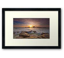 Copper Coast Framed Print