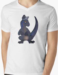 The Amazing Evolving Blue Mens V-Neck T-Shirt