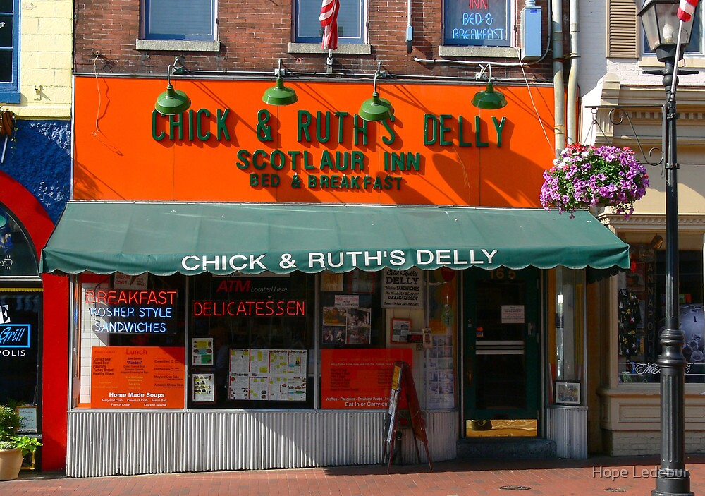 Chick and Ruth's Delly by Hope Ledebur
