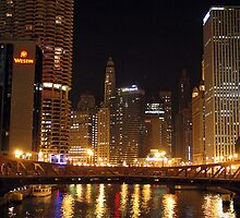 Chicago River by Alan Abriss