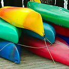 Kayak Kolor II by Rich Summers