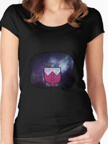 garnet galaxy Women's Fitted Scoop T-Shirt