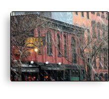 Pete's Tavern NYC Canvas Print