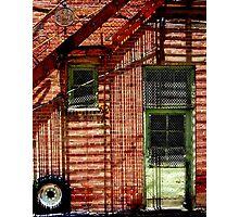 Shadowmetrics in Brick Photographic Print