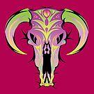desert skull 2 by designsalive