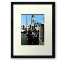 The Shallop, Maryland-Virginia Framed Print