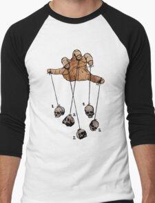 The Five Dancing Skulls Of Doom Men's Baseball ¾ T-Shirt