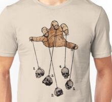 The Five Dancing Skulls Of Doom Unisex T-Shirt