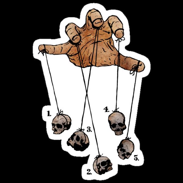 The Five Dancing Skulls Of Doom by matthewdunnart
