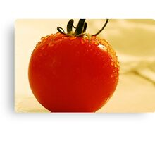 Garden Fresh Tomato Canvas Print