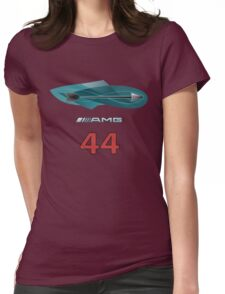 Silver Arrows 44 Womens Fitted T-Shirt
