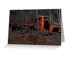Rust In Peace 9 Greeting Card