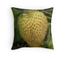Not Berry Red Yet Throw Pillow