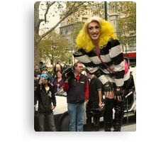 Giant Drag Queen Canvas Print