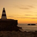 """""""Obelisk Sunset"""", Robe SA by Fiona Boundy"""