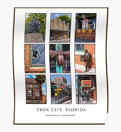 Ybor City, FL Poster Poster