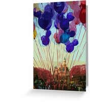 Up In The Air Greeting Card