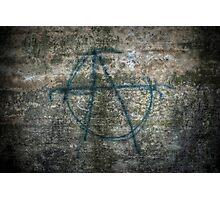 Anarchy! Photographic Print