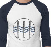 Jack White III - Baseball Logo (Alternate Detroit Tigers Edition) Men's Baseball ¾ T-Shirt