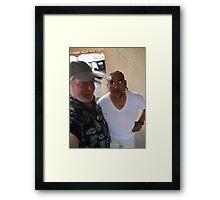 Patrick Romero & Me Framed Print