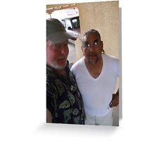 Patrick Romero & Me Greeting Card