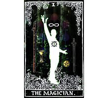 The Magician - a portrait in Tarot  Photographic Print