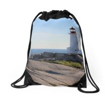 Peggy's Cove Drawstring Bag