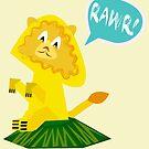 Rawr! Lion by Jessica Slater