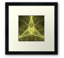 Ever-Flowing Spirit of the Infinite Triange | Fractal Art by Douglas Fresh Framed Print