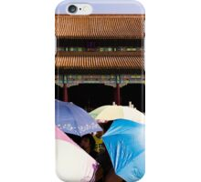 Umbrella Army - Beijing China iPhone Case/Skin