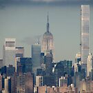 Downtown New York City  by Alberto  DeJesus
