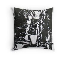 Morning Coffees Throw Pillow