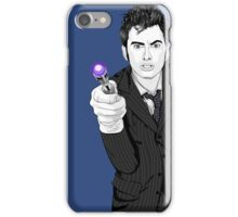 The Tenth Doctor (What??)  iPhone Case/Skin