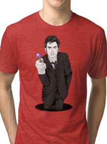 The Tenth Doctor (What??)  Tri-blend T-Shirt