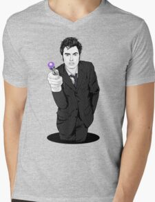 The Tenth Doctor (What??)  Mens V-Neck T-Shirt