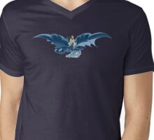 Lady Dragon Rider Mens V-Neck T-Shirt