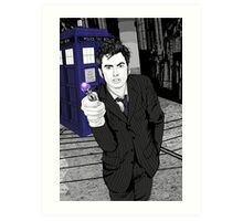 The Tenth Doctor (What??)  Art Print
