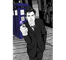 The Tenth Doctor (What??)  Photographic Print