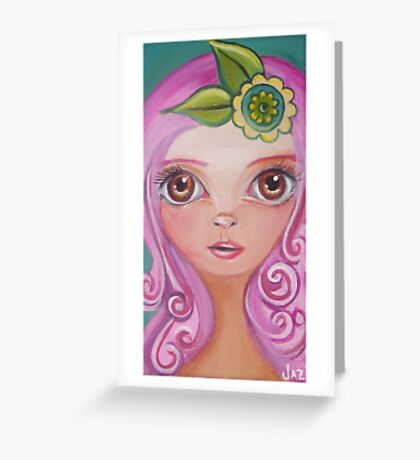 Peppermint Patti by Jaz Greeting Card