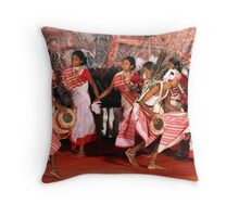 The tribal dance # 2. Throw Pillow
