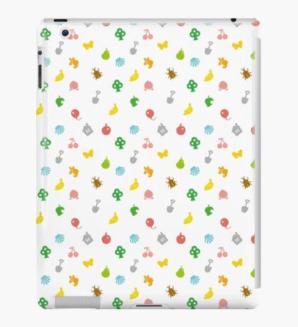 Animal Crossing Amiibo Card - Pattern iPad Case/Skin