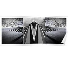 Structure (Triptych) Poster