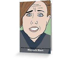 Harto Greeting Card