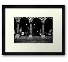 Vienna or bust Framed Print