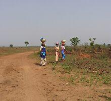 Nigerian Women with Calabash by jason613