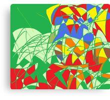 color magnet Canvas Print