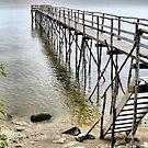 Lake Winnipeg Dock by kenspics